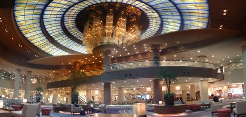ホテル内パノラマ写真