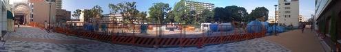 鉄人28号建設予定地パノラマ写真