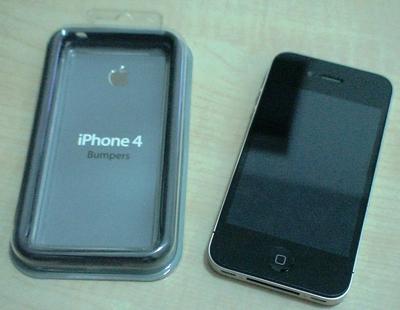 iPhone4ケース未装着