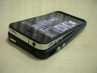 iPhone4ケース装着