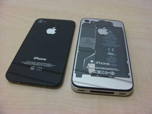 iPhone用スケルトン バックパネル