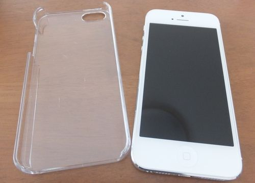 iPhone5クリアケース