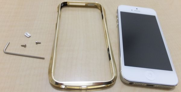CLEAVE ALUMINUM BUMPER for iPhone 5 Full polish model