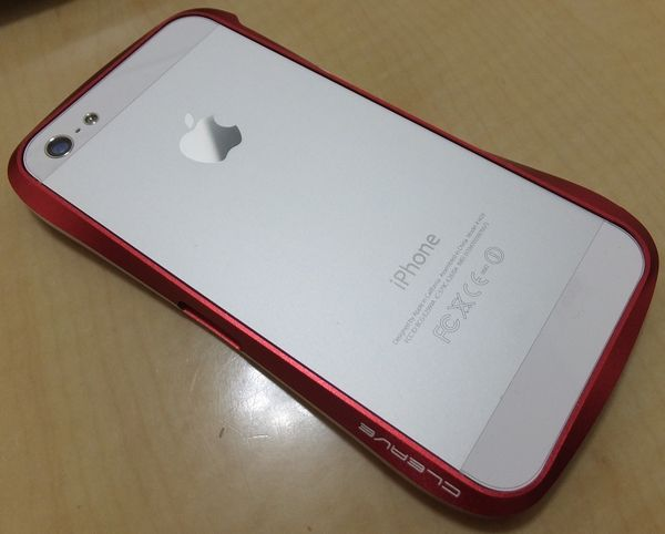 Deff CLEAVE ALUMINUM BUMPER for iPhone 5